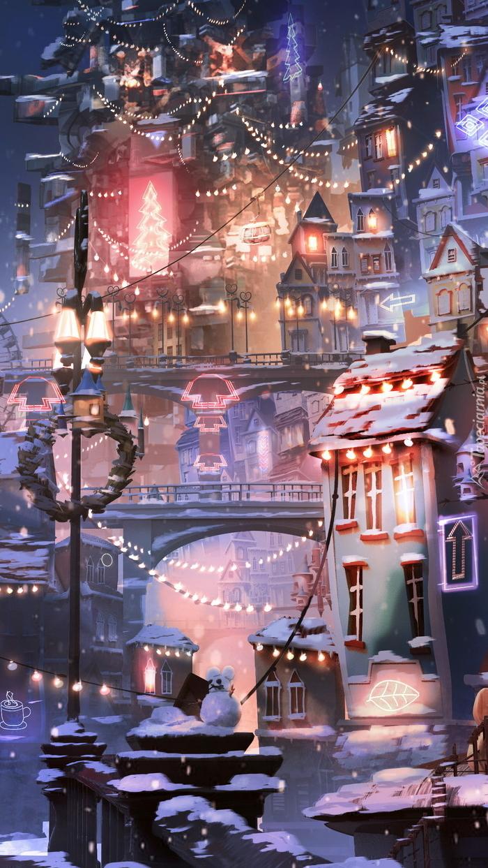 Świąteczna dekoracja miasta