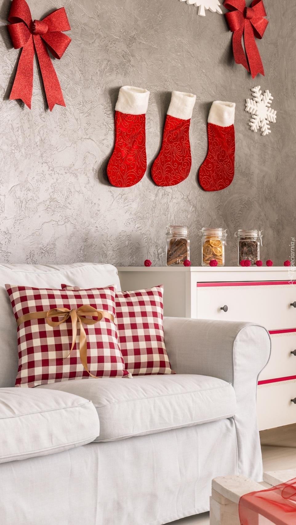 Świąteczna dekoracja w pokoju