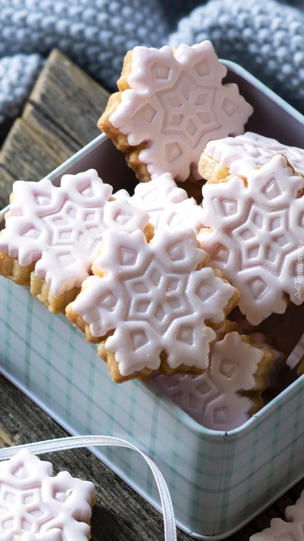 Świąteczne ciasteczka w pudełku