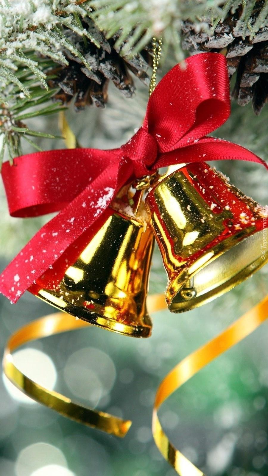 Świąteczne dzwonki na choince