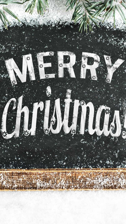 Świąteczne życzenia na tablicy