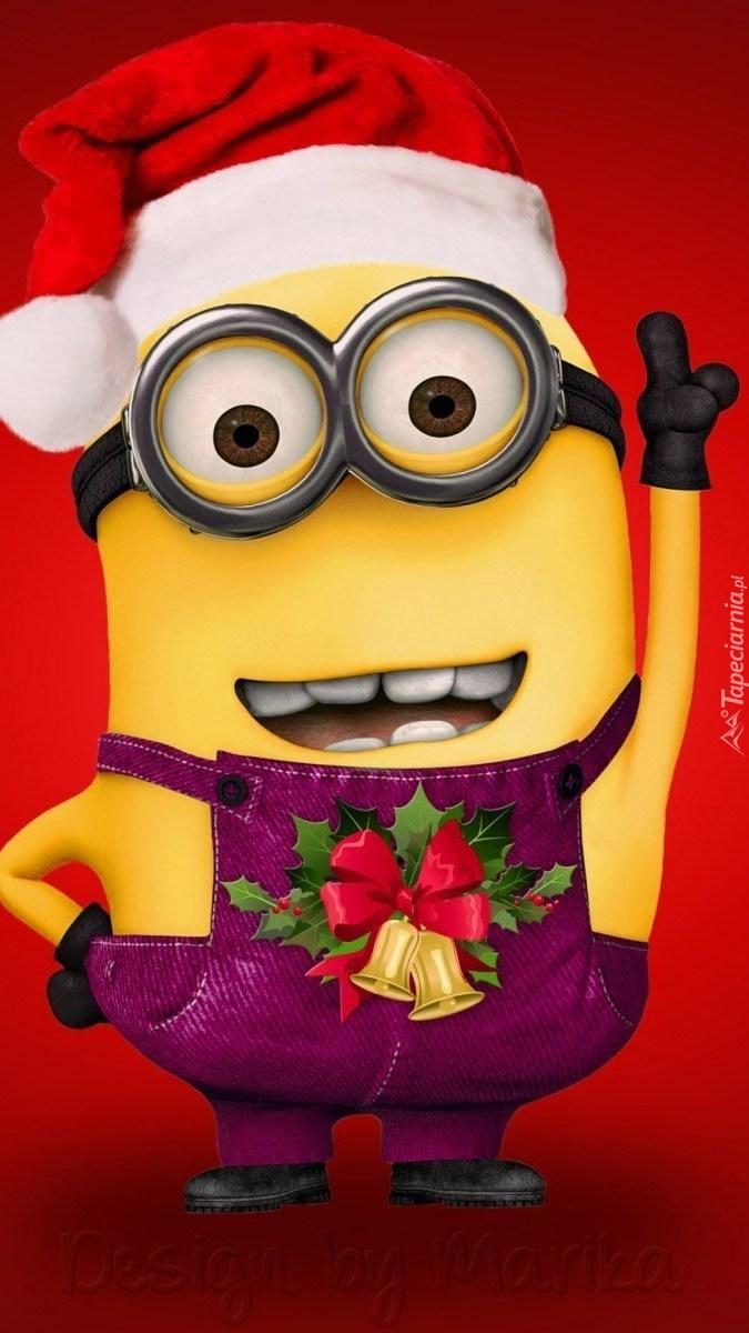 Świąteczny Minionek