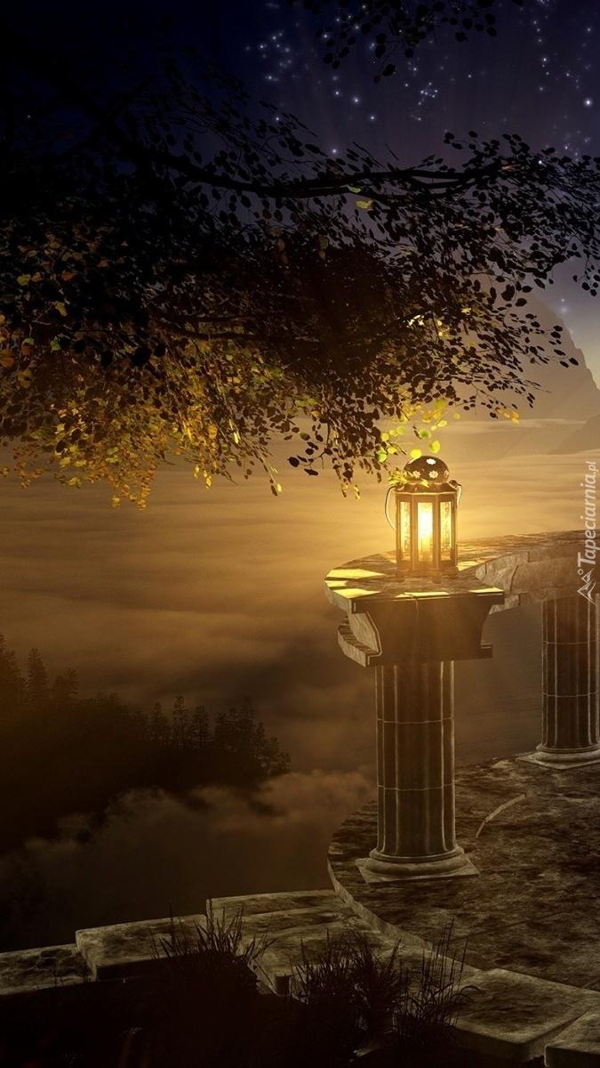 Światło lampionu
