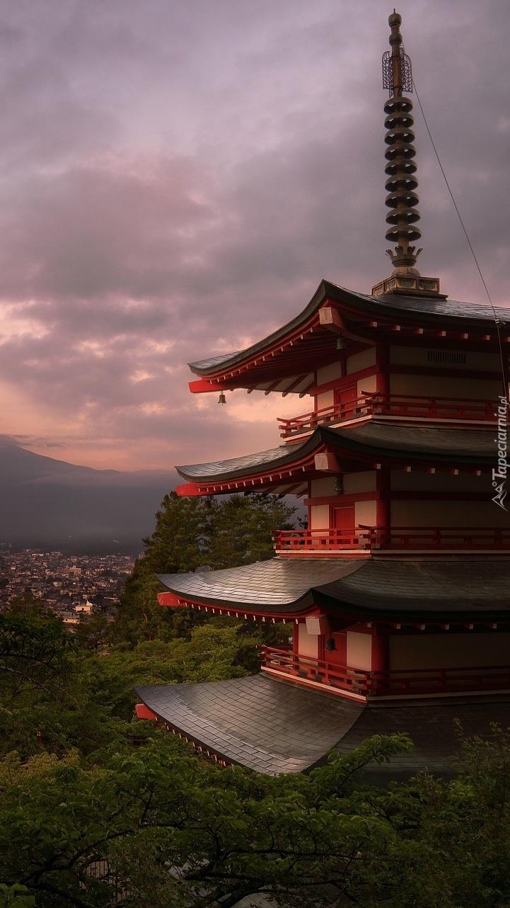 Świątynia Chureito Pagoda