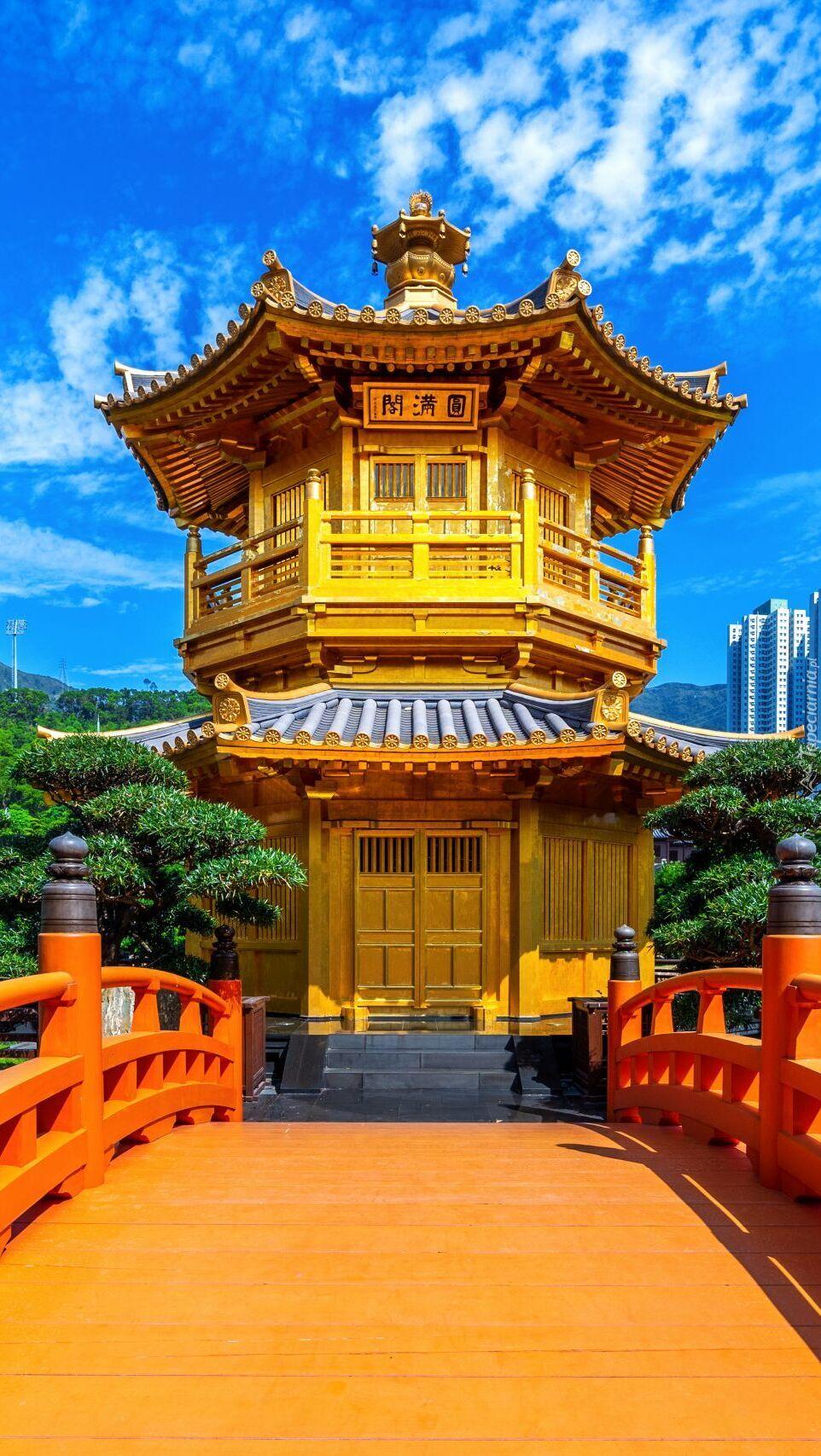 Świątynia Golden Pavilion Chi Lin Nunnery Temple