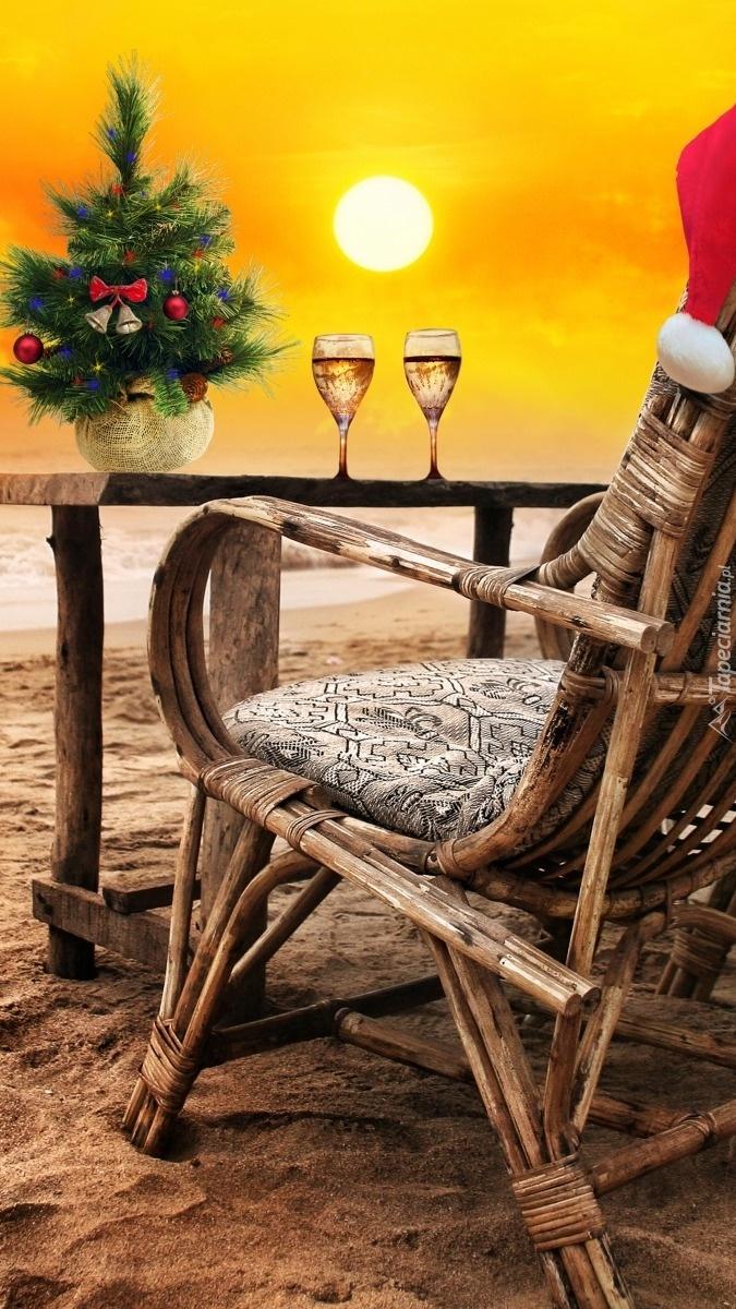 Święta na plaży