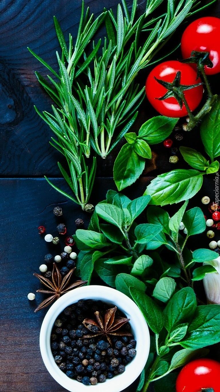 Świeże zioła i przyprawy