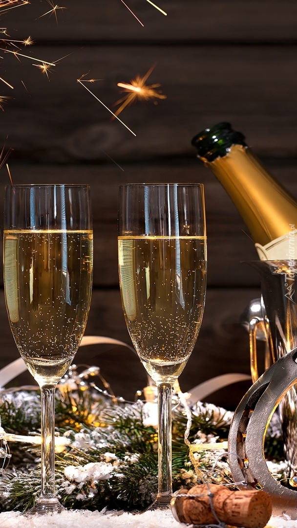 Sylwestrowy szampan