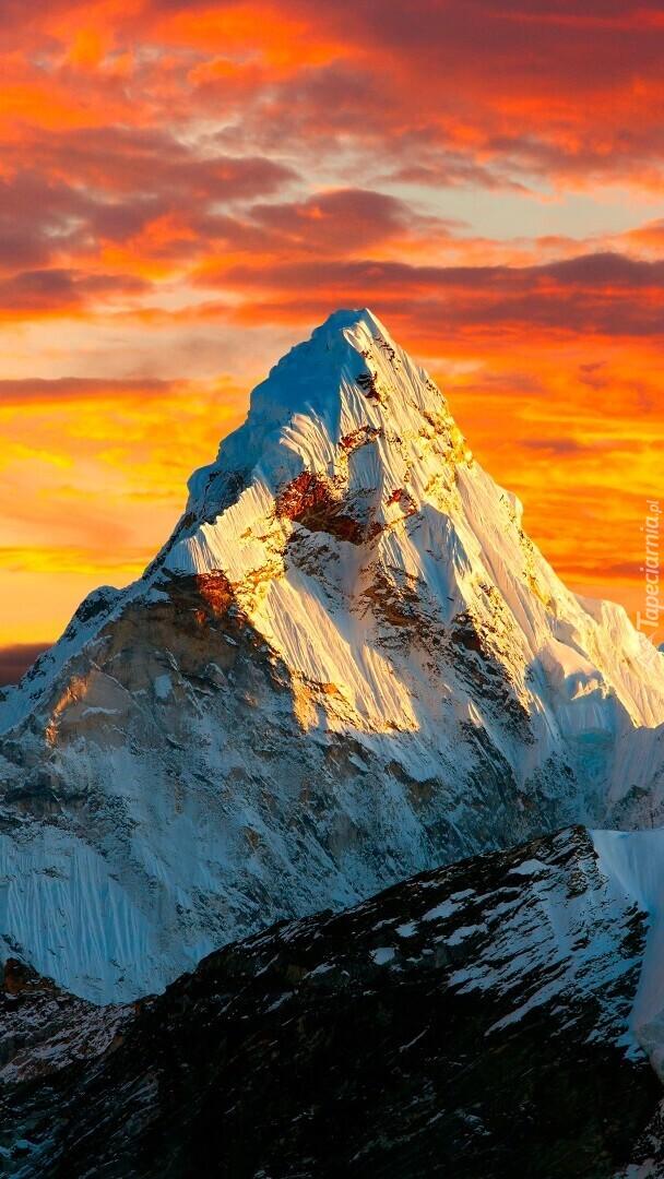 Szczyt Mount Everest