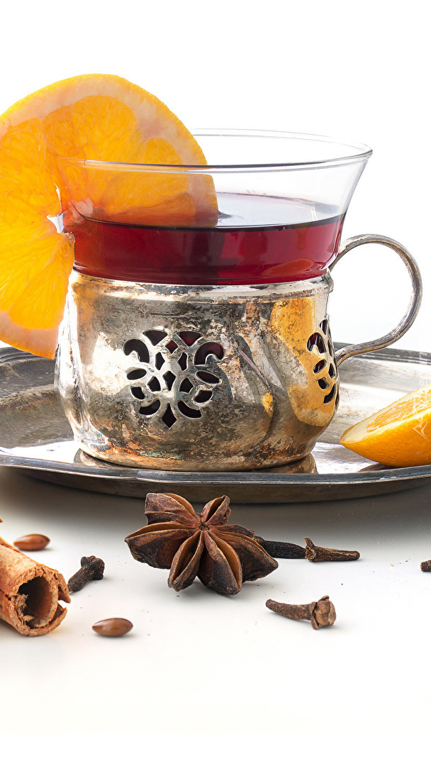 Szklanka herbaty z cytryną