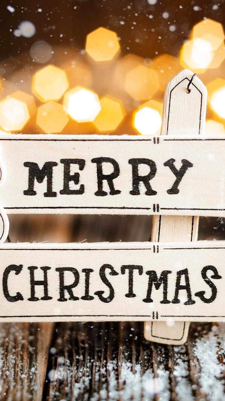 Tabliczka z napisem Merry Christmas