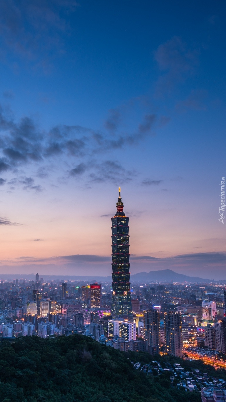 Taipei nocą