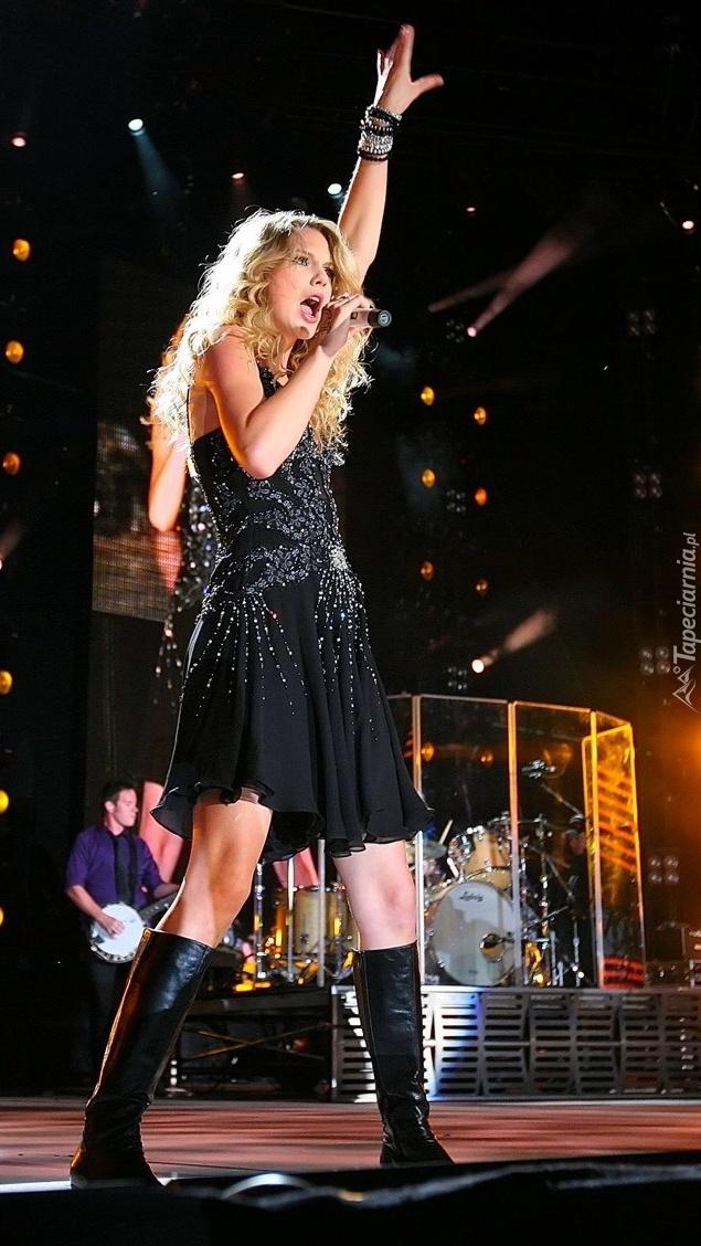 Taylor Swift na estradzie
