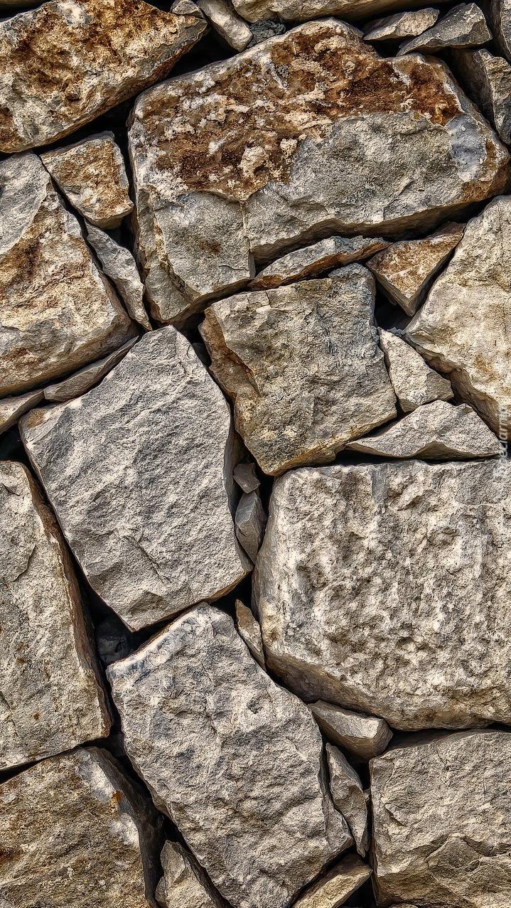 Tekstura w kamienie