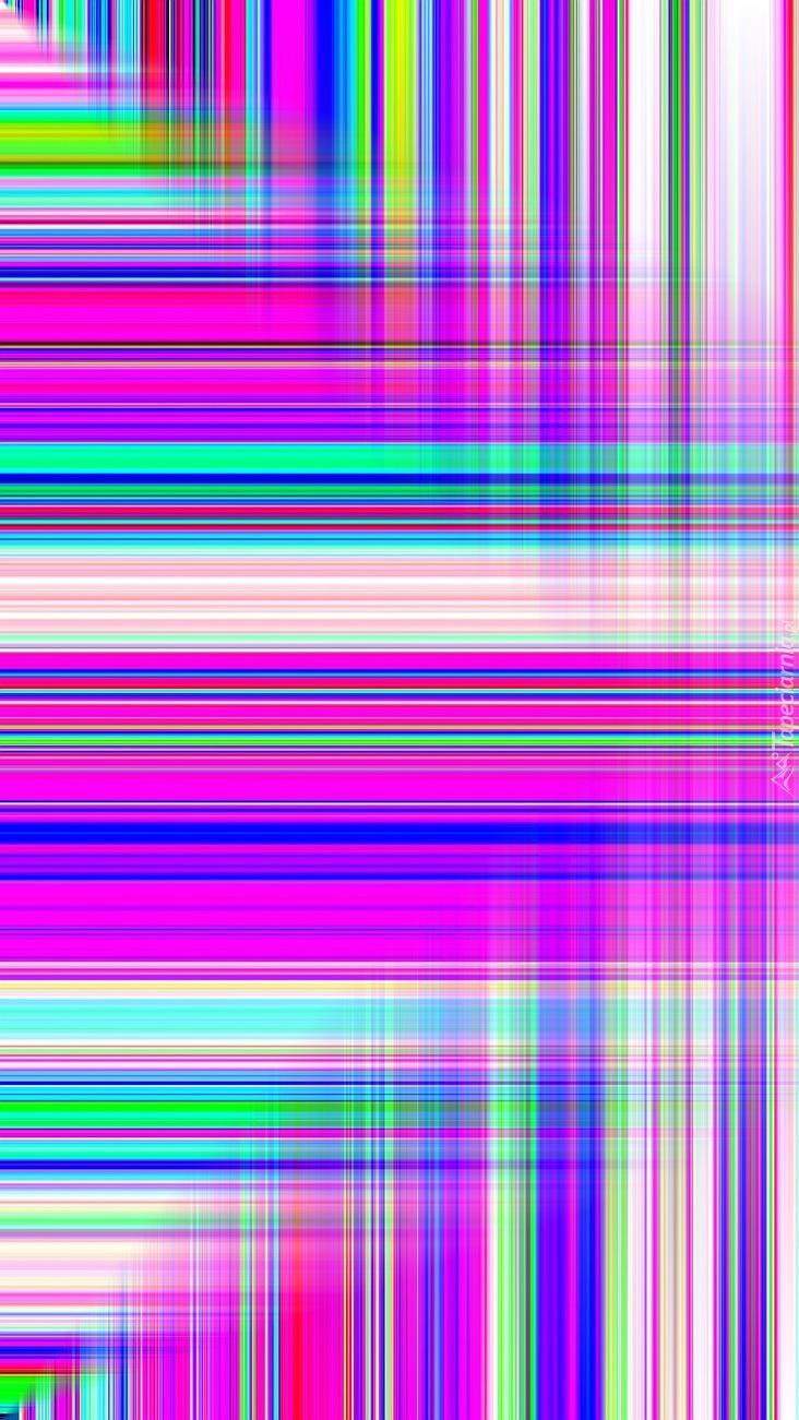 Tekstura w kolorowe paski