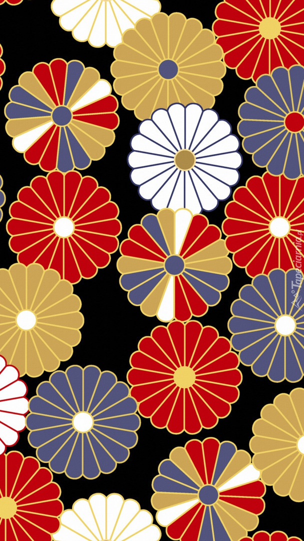 Tekstura w kwiaty