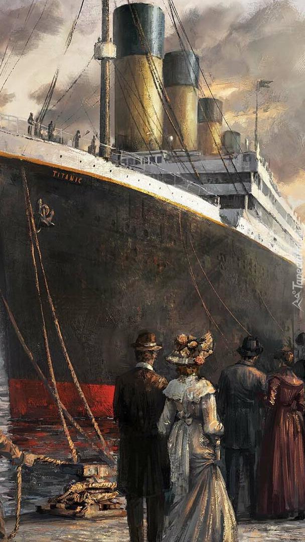 Titanic w grafice
