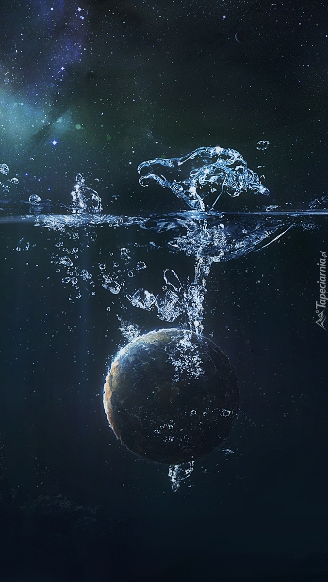 Tonąca planeta