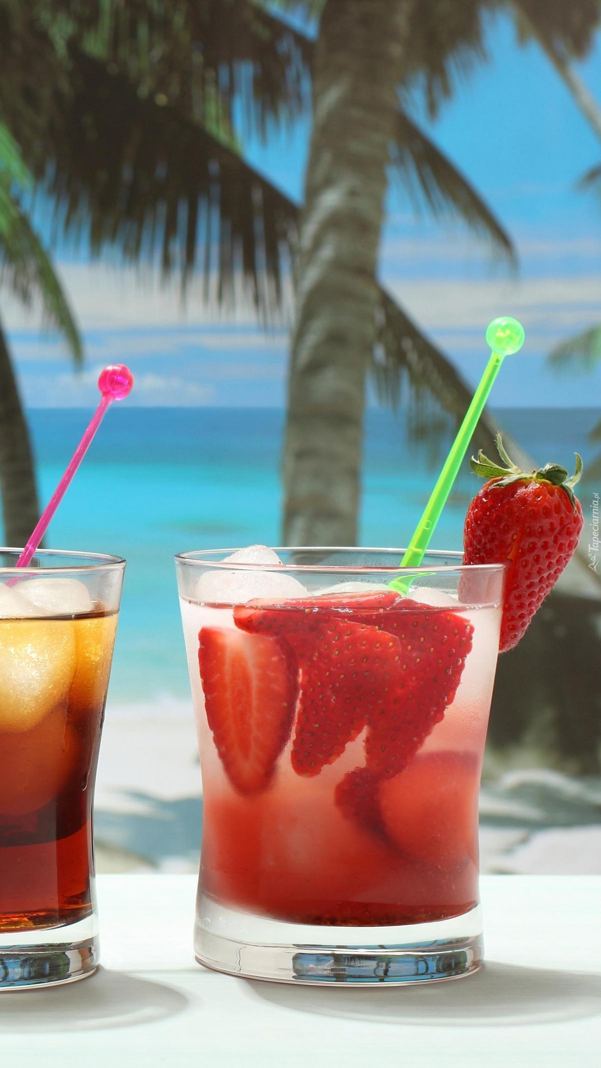 Tropikalne drinki owocowe