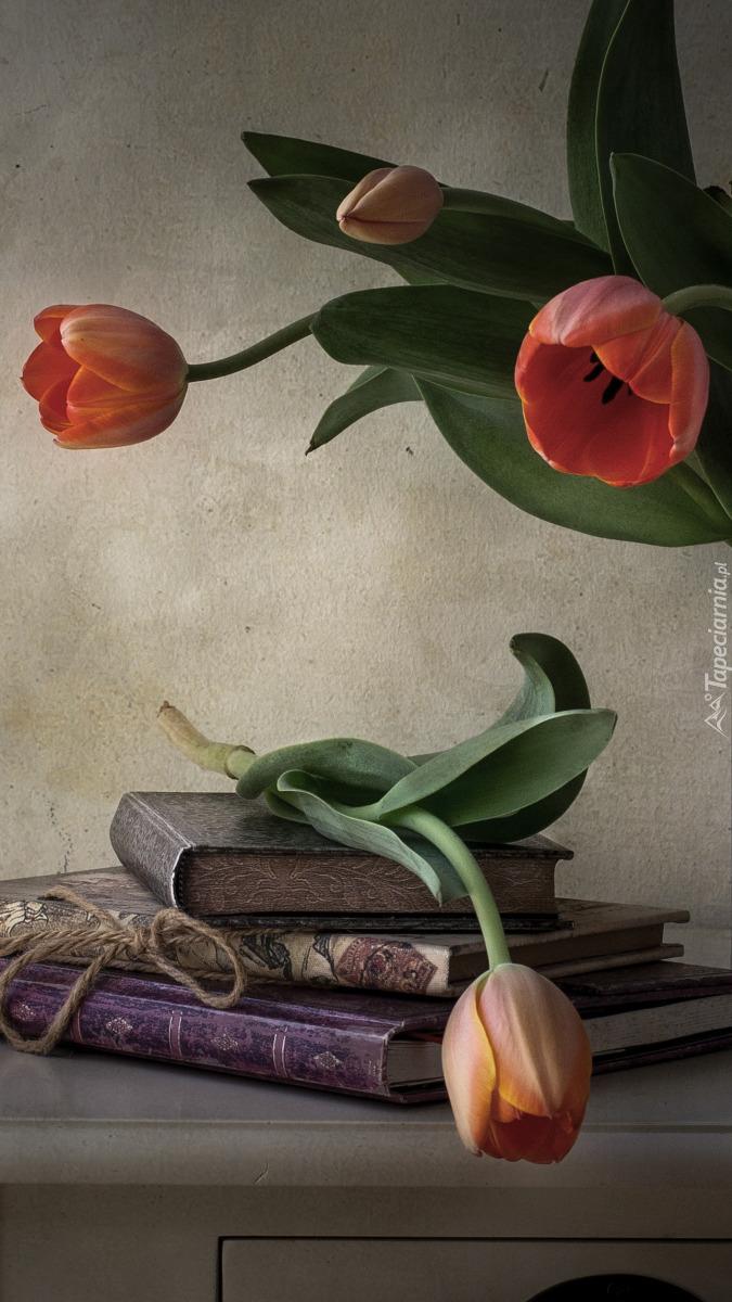 Tulipan na książce