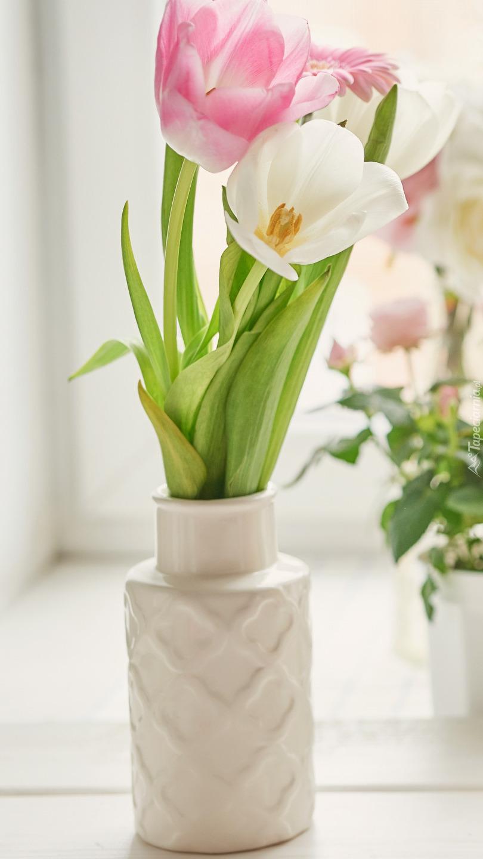 Tulipany w wazoniku