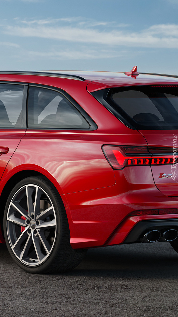 Tył Audi S6 Avant