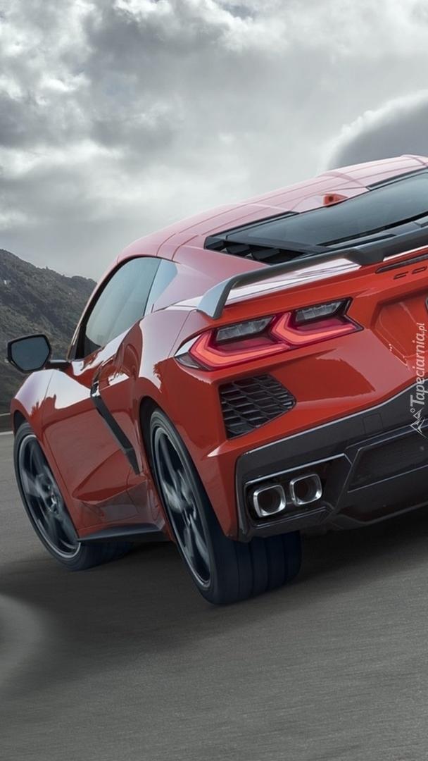 Tył Chevroleta Corvette Stingray