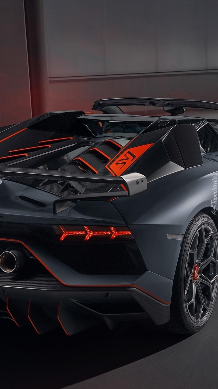 Tył Lamborghini Aventador SVJ 63