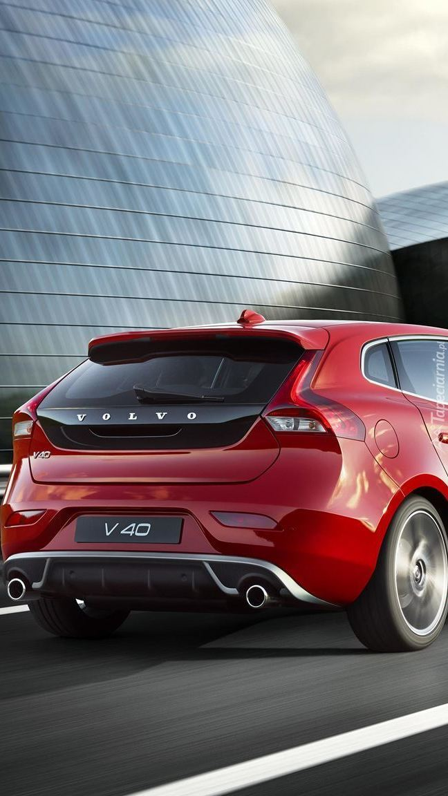 Tył Volvo V40