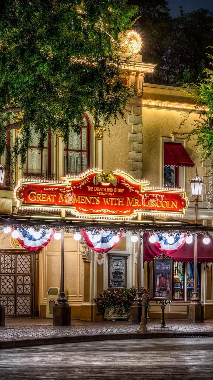 Ulica w Disneylandzie