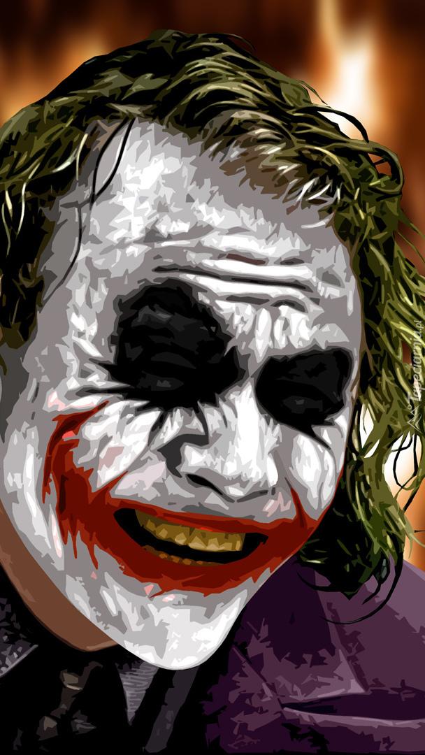 Uśmiechnięty Joker