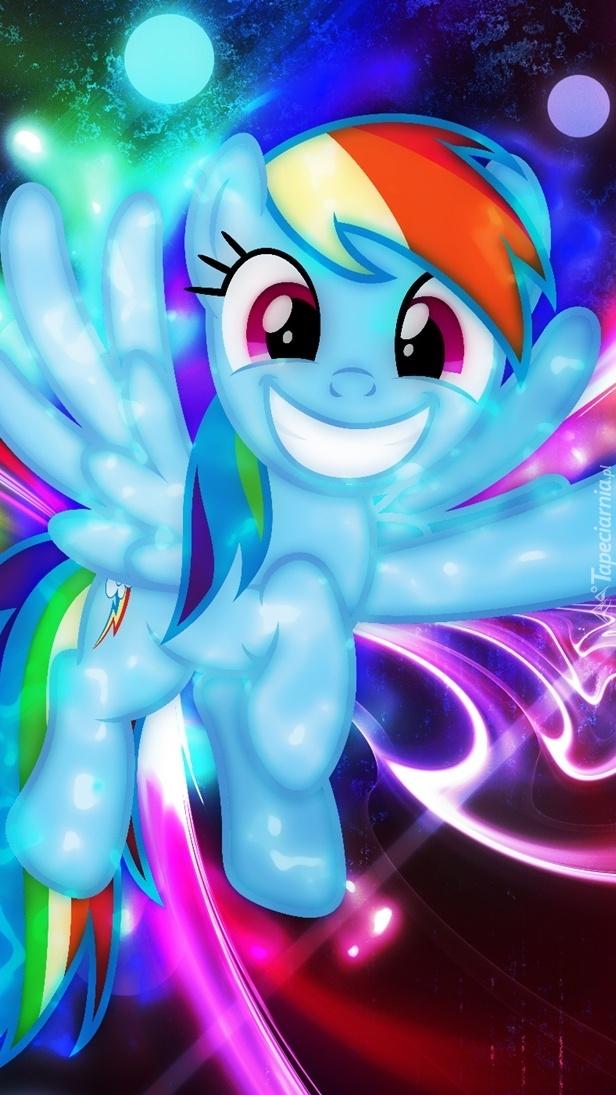 Uśmiechnięty kucyk Pony