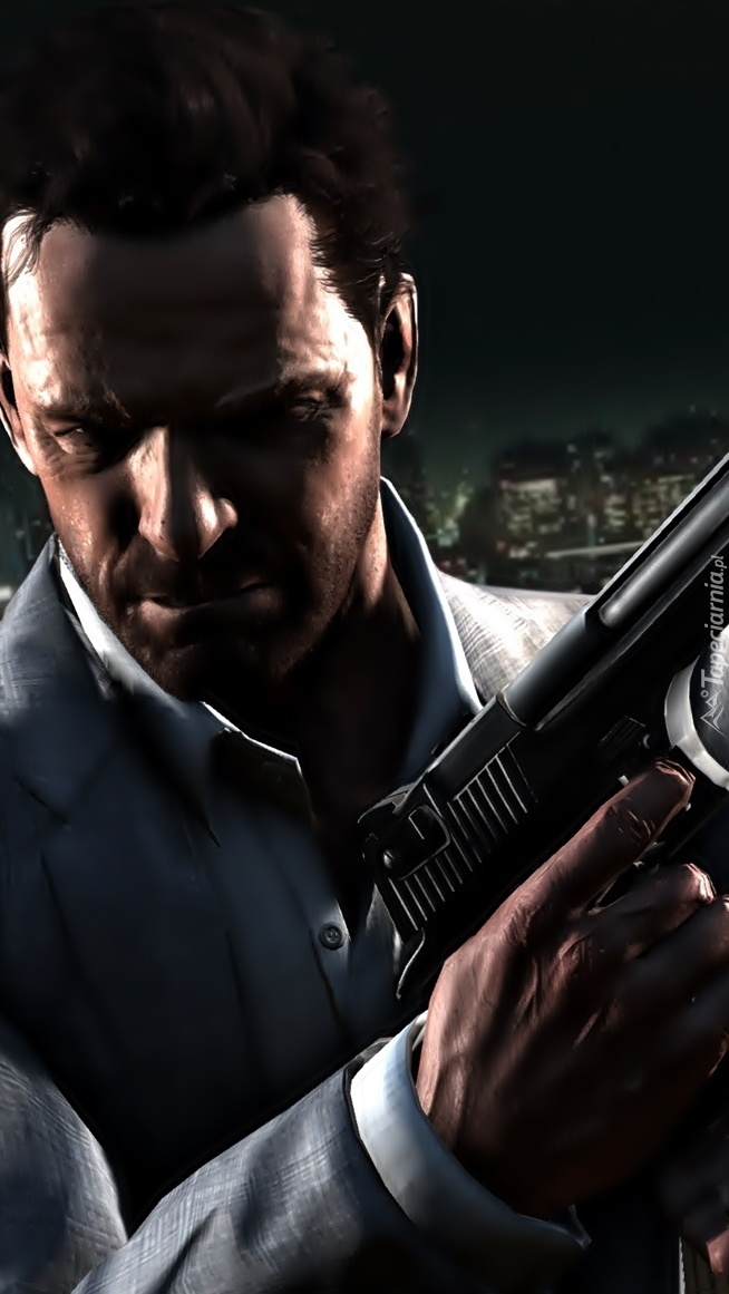 Uzbrojony Max Payne