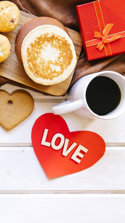 Walentynkowe śniadanie