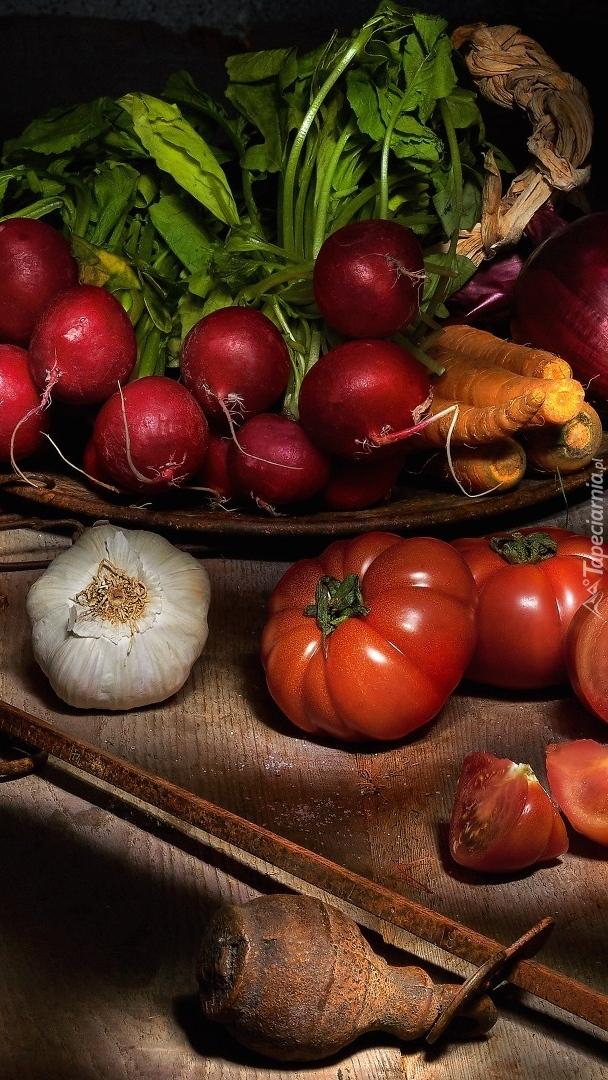 Warzywa na stole