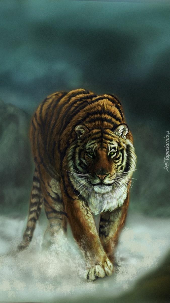 Wędrujący tygrys