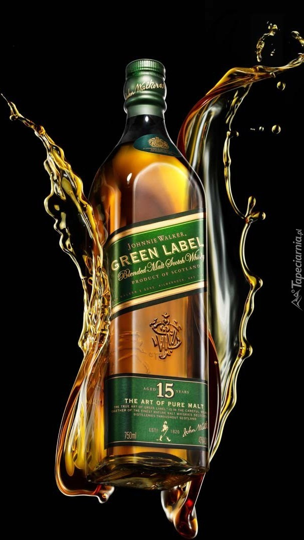 Whisky Johnnie Walker Green Label