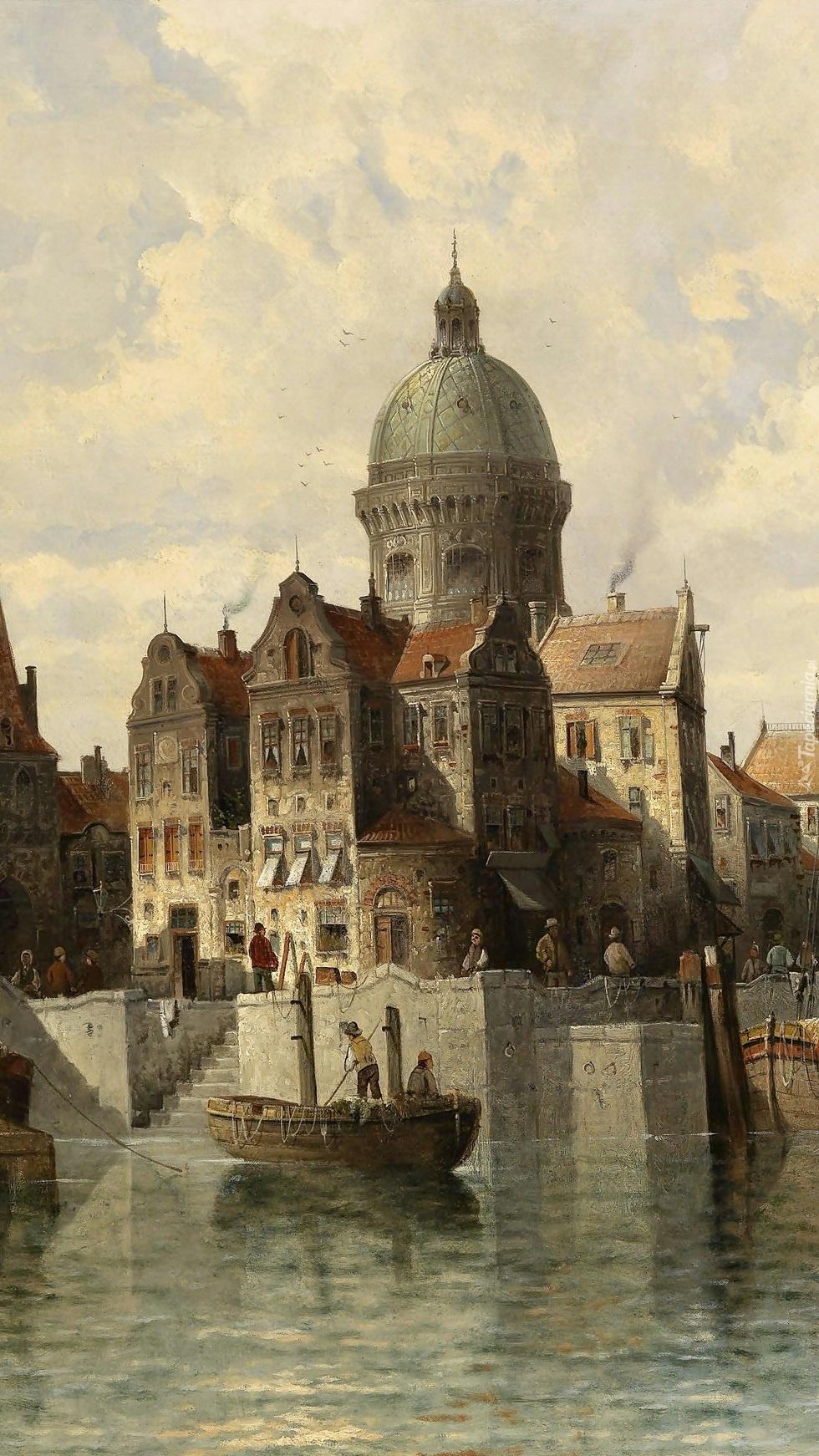 Widok na Amsterdam Siegena