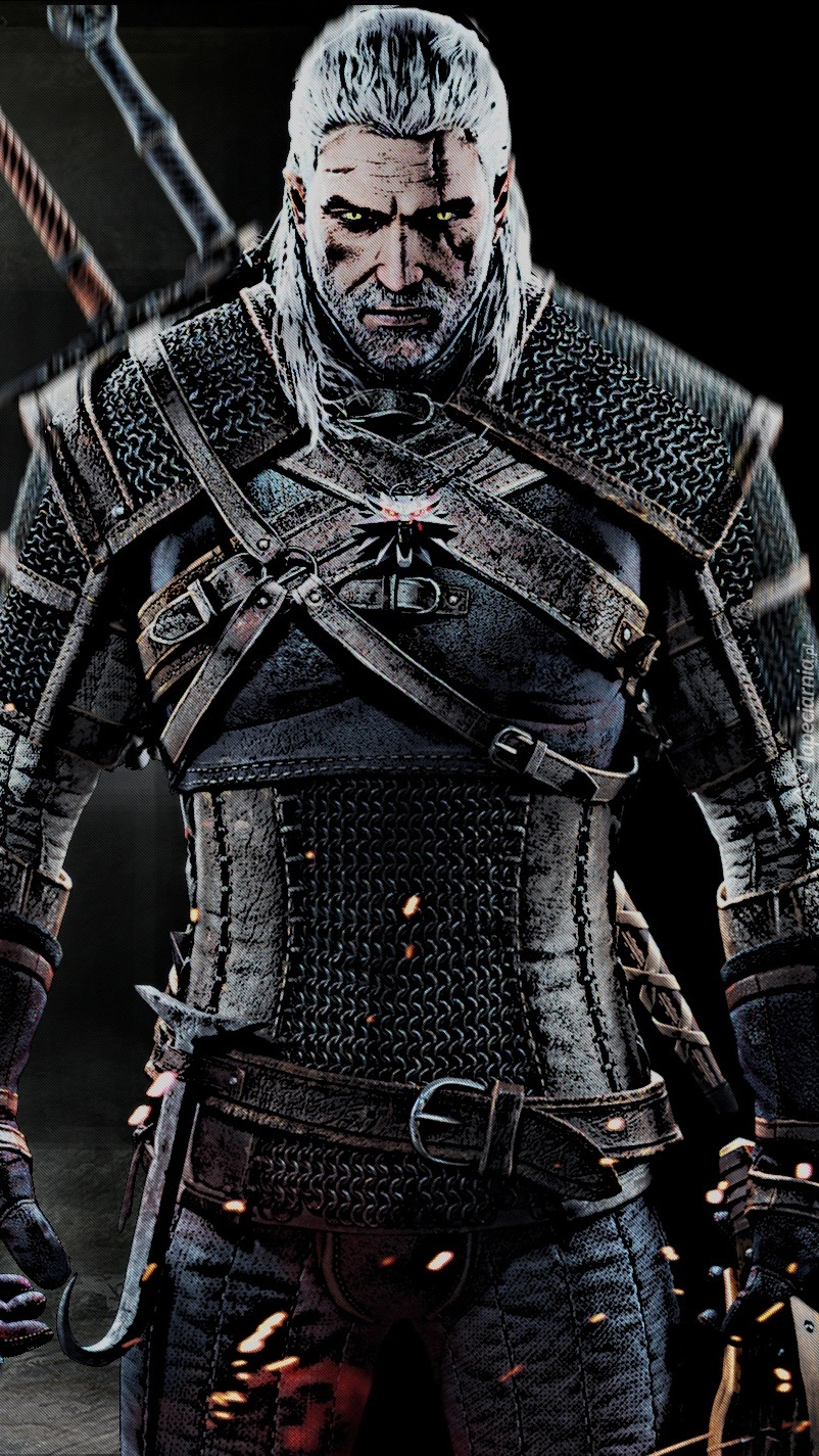 Wiedźmin z gry The Witcher