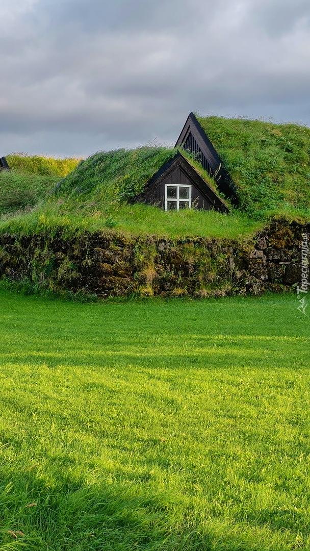 Wiejski dom w Islandii