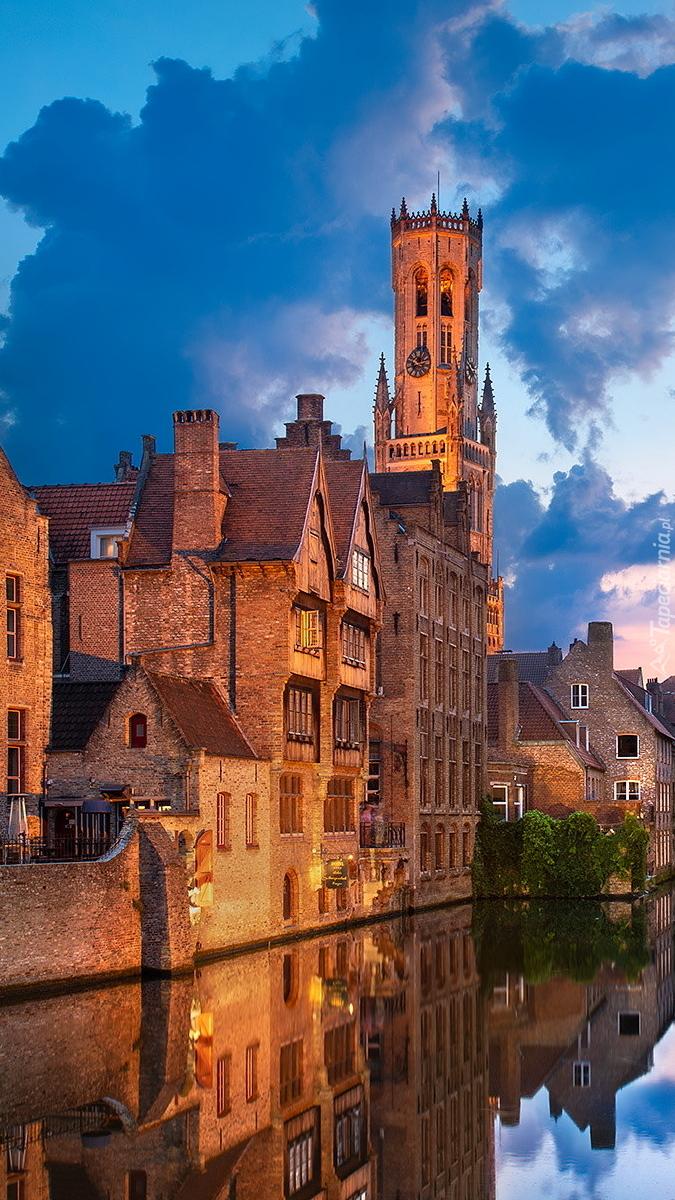 Wieża Belfort w Belgii