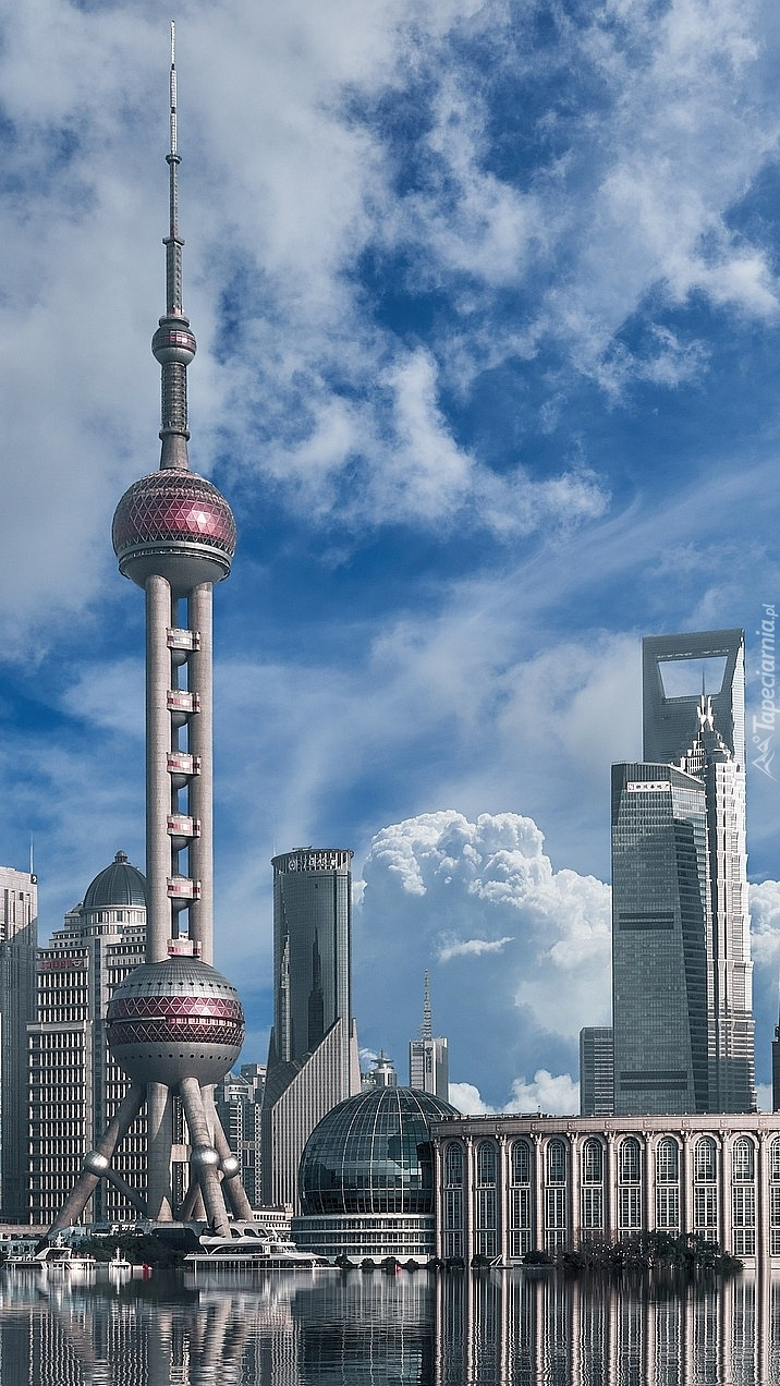 Wieża Oriental Pearl Tower