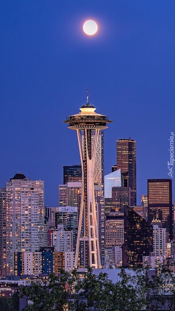 Wieża Space Needle w Seattle