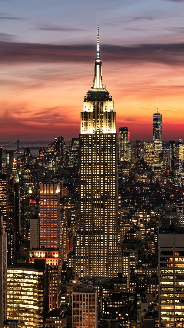 Wieżowiec Empire State Building