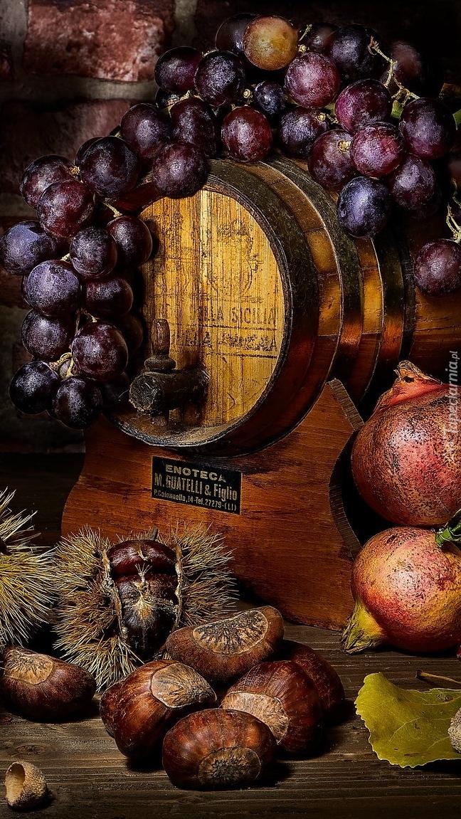 Winogrona na antałku