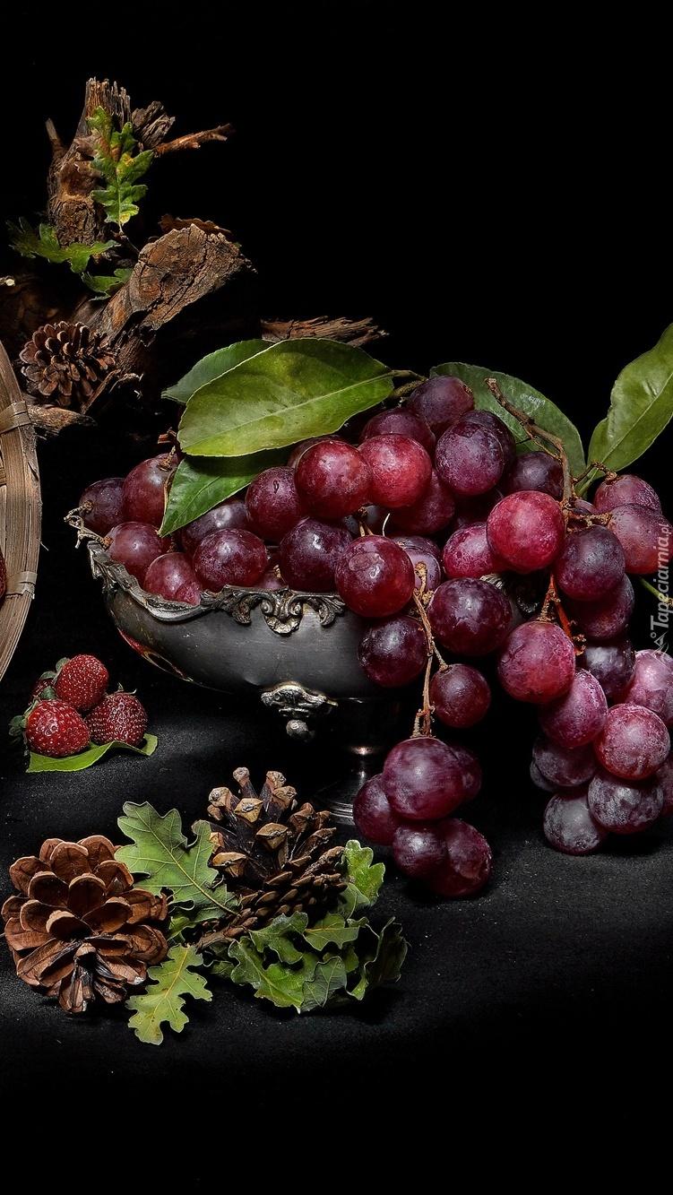 Winogrona w miseczce