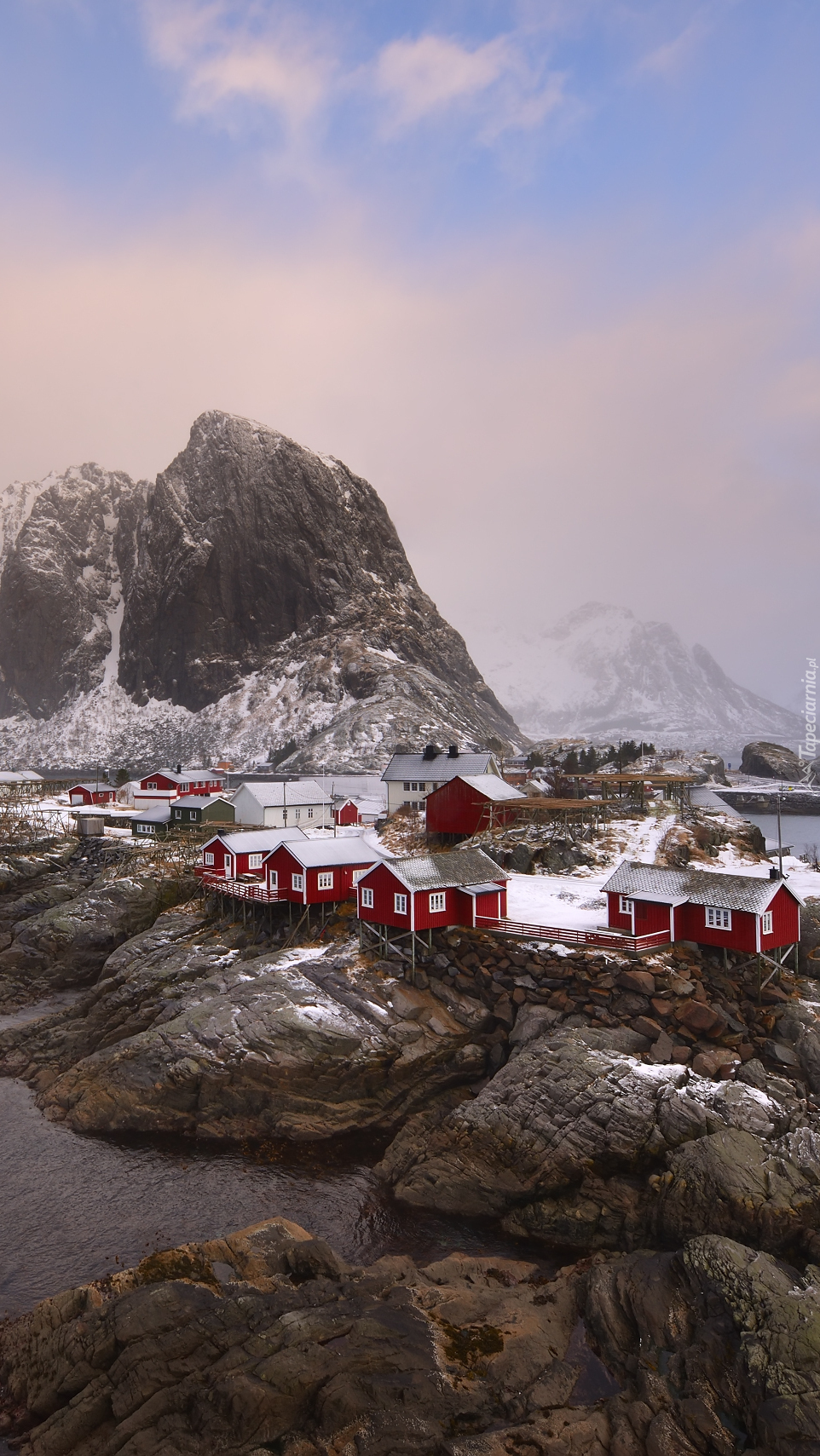 Wioska Reine w Norwegii