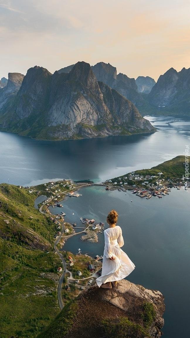 Wioski na norweskich Lofotach