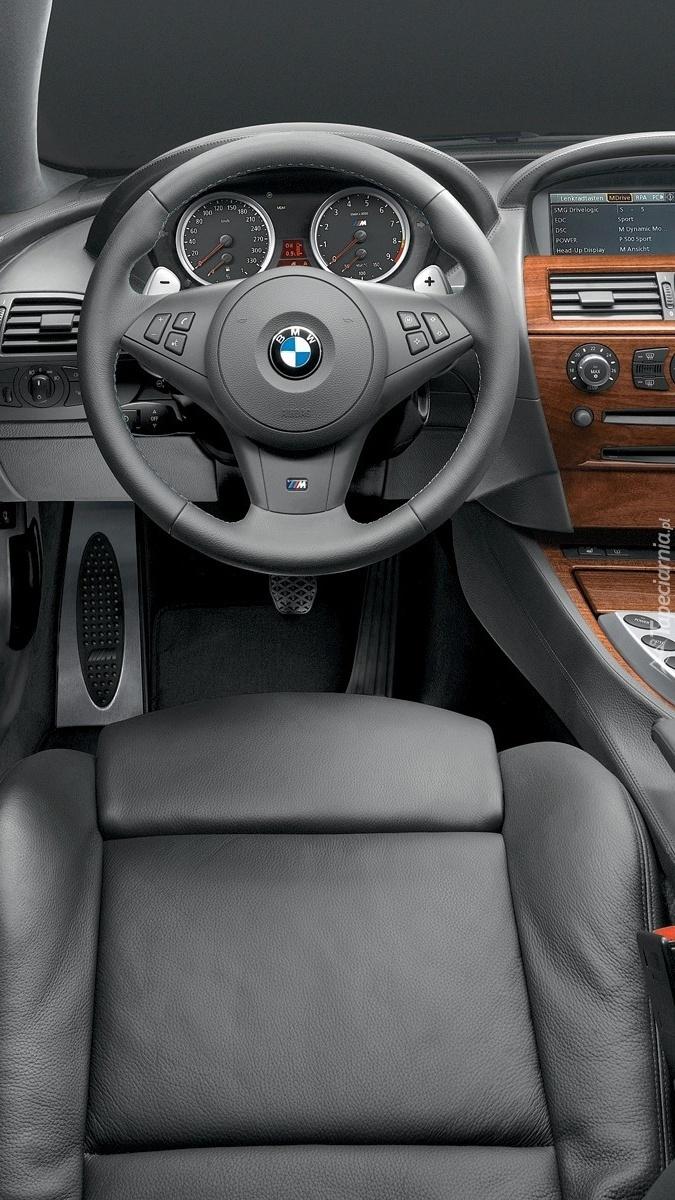 Wnętrze BMW M6