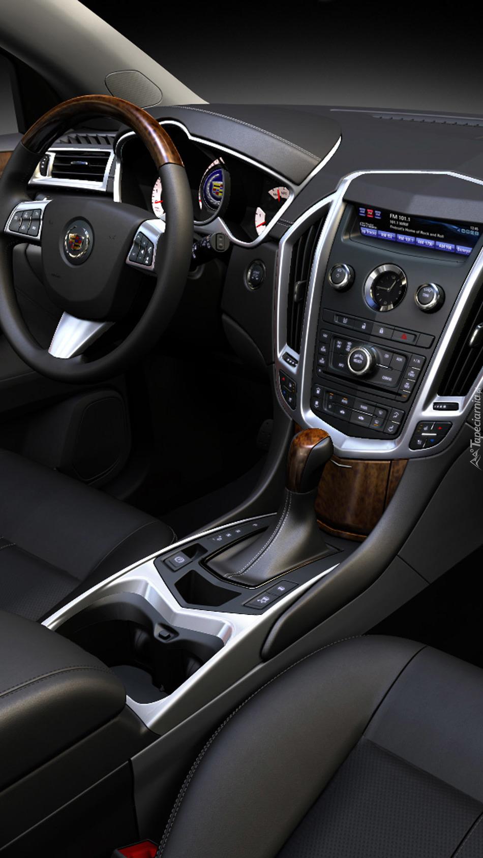 Wnętrze Cadillaca SRX